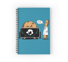 Cookies X-Ray  & Cookie Monster Spiral Notebook
