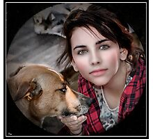 Australian Girl  Photographic Print