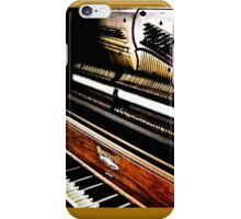 antique piano iPhone Case/Skin