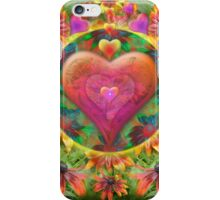 Heart of Flowers iPhone Case/Skin