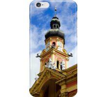 Wilten Abbey Tower, Innsbruck, Austria iPhone Case/Skin