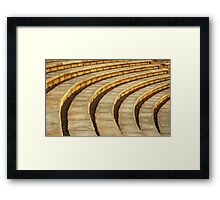 'Talons' (amphitheater abstract) Framed Print
