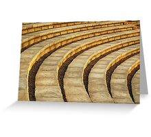 'Talons' (amphitheater abstract) Greeting Card
