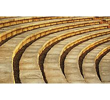 'Talons' (amphitheater abstract) Photographic Print