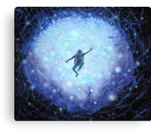 """Lost in space"" Gouache painting Canvas Print"