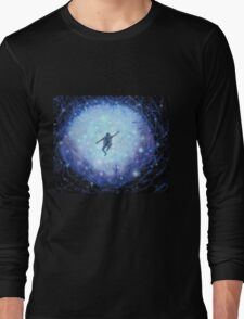 """""""Lost in space"""" Gouache painting Long Sleeve T-Shirt"""