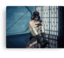 Wash Day on the Death Star Canvas Print