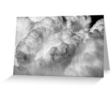 Avalanche ~ of Clouds Greeting Card