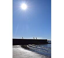 Pier run Photographic Print