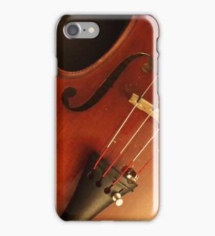 The Old Well Used Violin iPhone Case/Skin