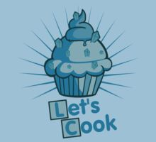 Let's Cook cupcake muffins breaking bad meth blue bleu méthamphétamine  by KokoBlacksquare