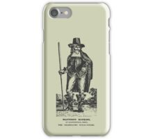 Matthew Hopkins iPhone Case/Skin