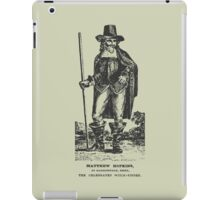 Matthew Hopkins iPad Case/Skin