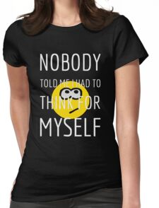 Thinking Womens Fitted T-Shirt