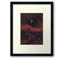 Pink Galaxy Framed Print