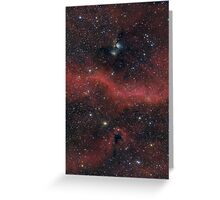 Pink Galaxy Greeting Card