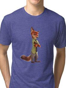 Nick Wilde (Zootopia) Tri-blend T-Shirt