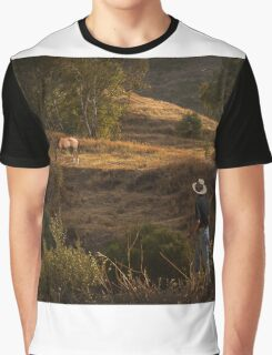 Who let the horse out? Graphic T-Shirt