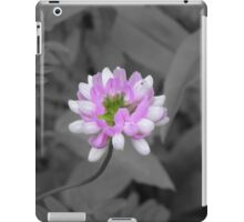 Crown Vetch (selective coloring) iPad Case/Skin
