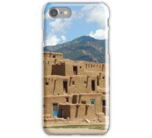 Taos Pueblo iPhone Case/Skin