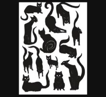 13 Black Cats One Piece - Short Sleeve