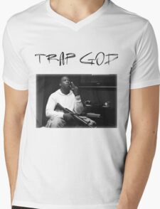 Gucci Mane - Trap God Mens V-Neck T-Shirt