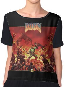 DOOM - Classic Version Chiffon Top