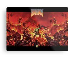 DOOM - Classic Version Metal Print