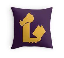 Bat Lady Reads Throw Pillow