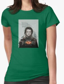 game of thrones - winter is coming Womens Fitted T-Shirt