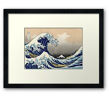 Great Wave Framed Print