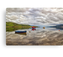 Peaceful Mooring Canvas Print