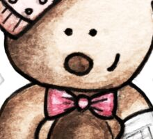 Get well soon Bear Sticker