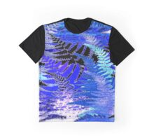 Ferns, Moonlight Blue Graphic T-Shirt