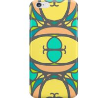 pattern with mosaic ornaments iPhone Case/Skin