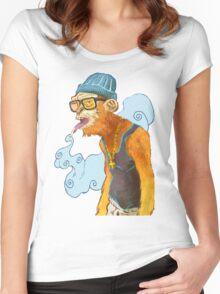 Monkey Smoke Women's Fitted Scoop T-Shirt