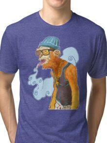Monkey Smoke Tri-blend T-Shirt
