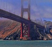 under the golden gate bridge by vigor
