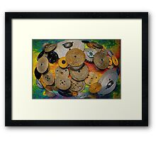 Gear Abstract Two Framed Print