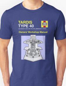 TARDIS - Type 40 - Owners' Manual Unisex T-Shirt