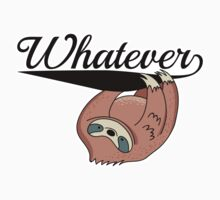 Sloth: Whatever One Piece - Short Sleeve
