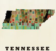 tennessee state map by bri-b