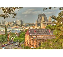 Sydney Springtime from Observatory Hill Photographic Print