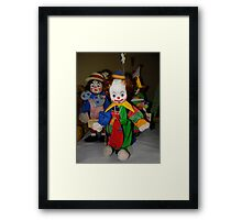 Chucky And His Evil Little Friends Framed Print