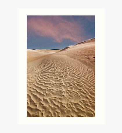 Beautiful sand dunes Lancelin, Western Australia,  Art Print