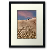 Beautiful sand dunes Lancelin, Western Australia,  Framed Print