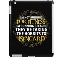 LOTR - I'm Running Because for Fitness... iPad Case/Skin