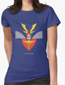 Invincible Steel Man Daitarn 3 Womens Fitted T-Shirt