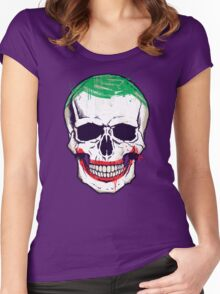 Joke's On You, Death! Women's Fitted Scoop T-Shirt