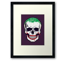 Joke's On You, Death! Framed Print